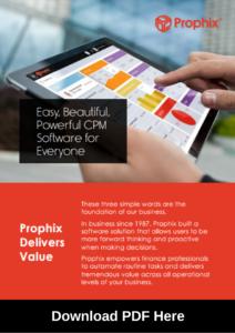 Prophix download PDF